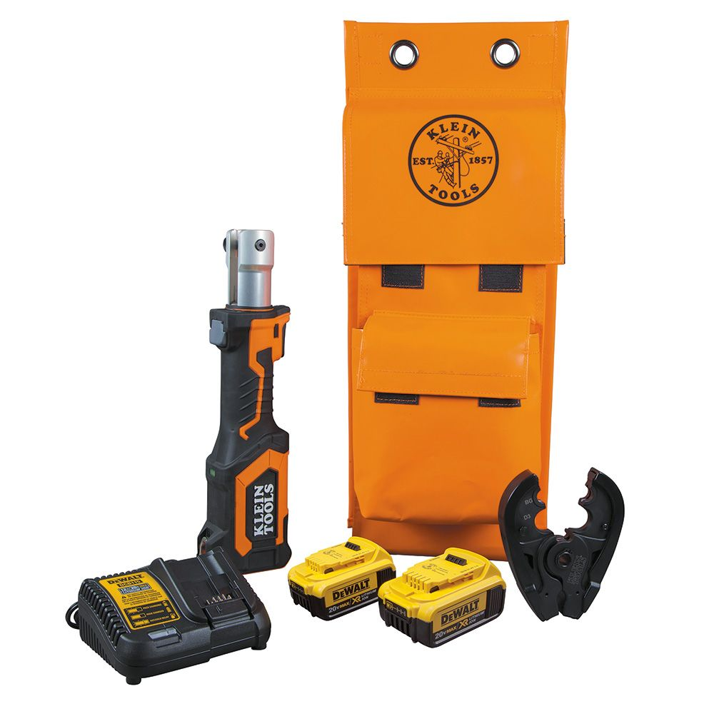 Battery-Operated Crimper, BG Die/D3 Groove, 4 Ah