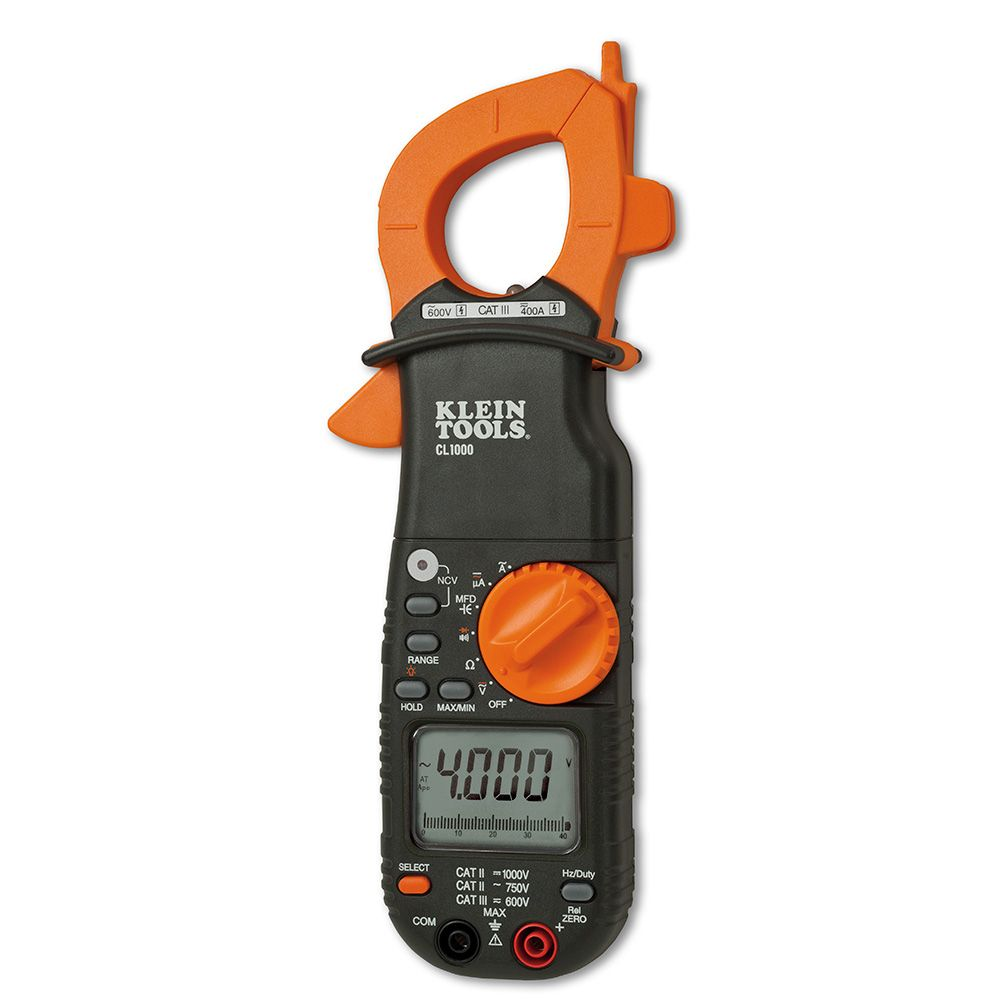 Klein Voltage Meter : A ac clamp meter cl klein tools for