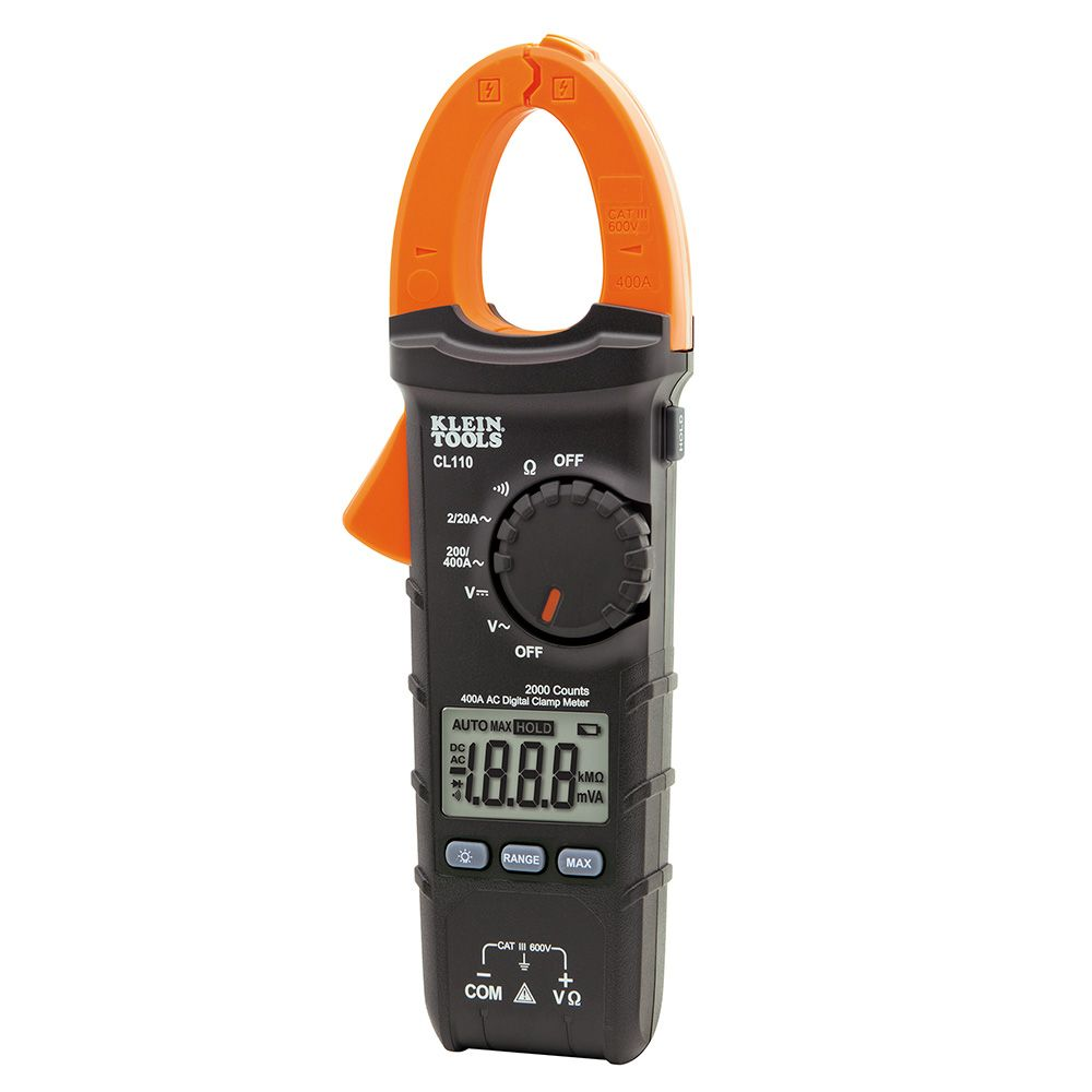 KLE CL110 400A AC AUTO-RANGING DIGITAL CLAMP METER
