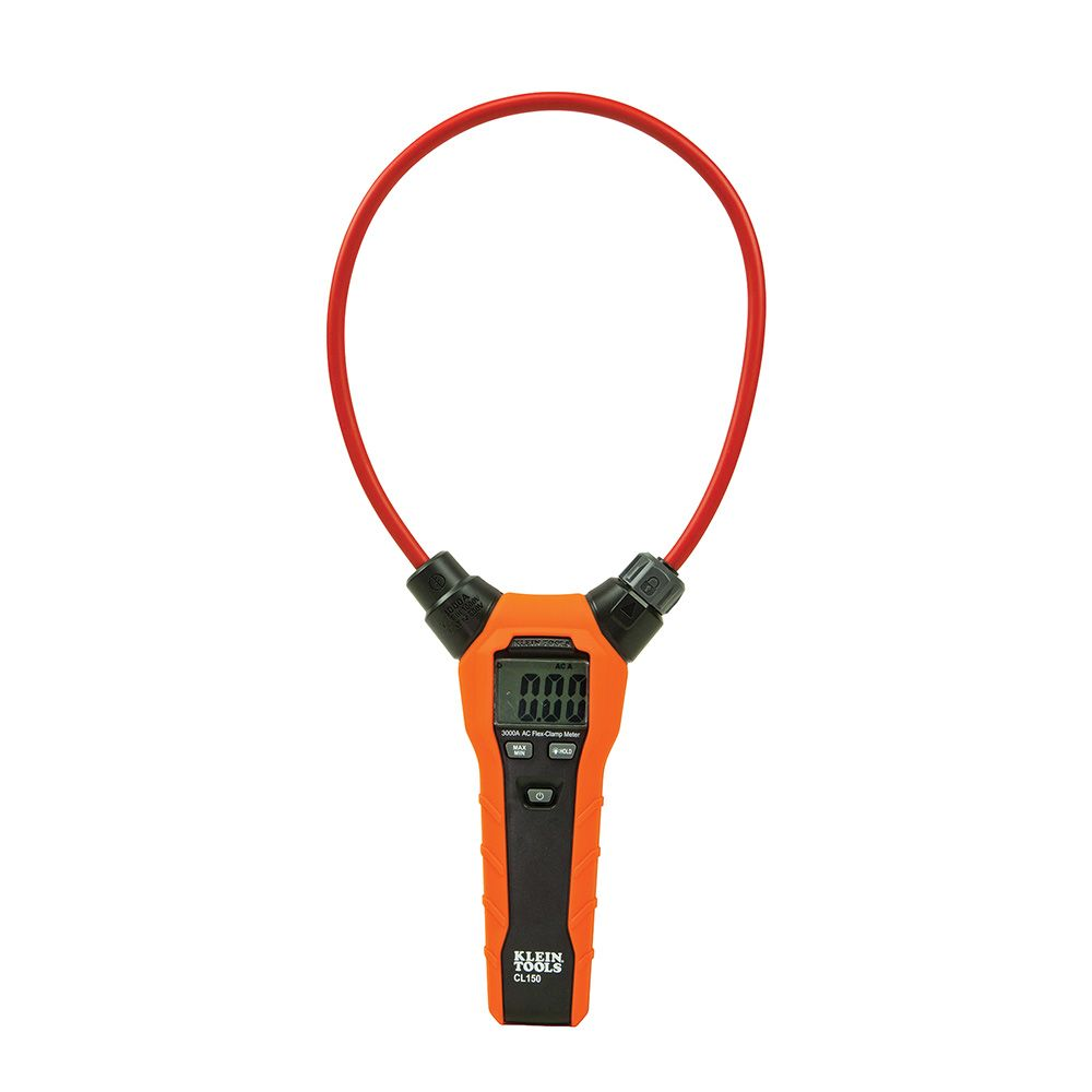 Clamp Meter, Digital AC Electrical Tester with 18-Inch Flexible Clamp