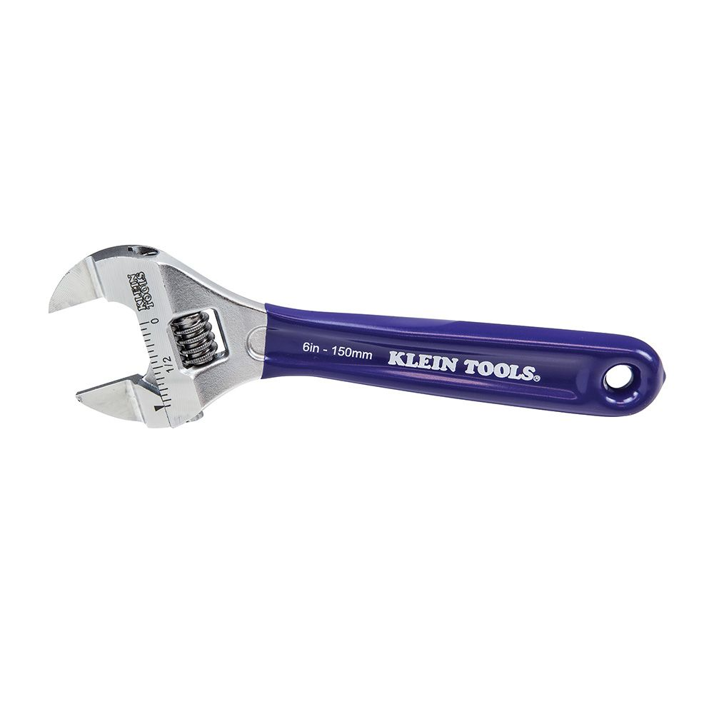 Slim-Jaw Adjustable Wrench, 6-Inch