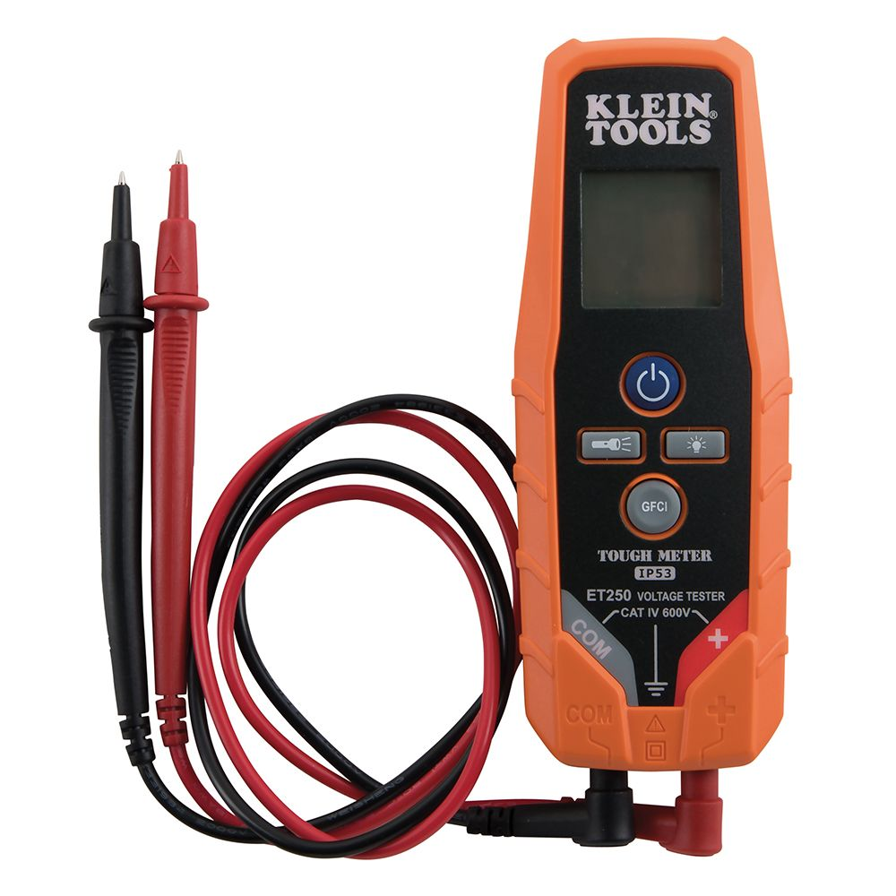 Klein Voltage Tester : Ac dc voltage continuity tester et klein tools