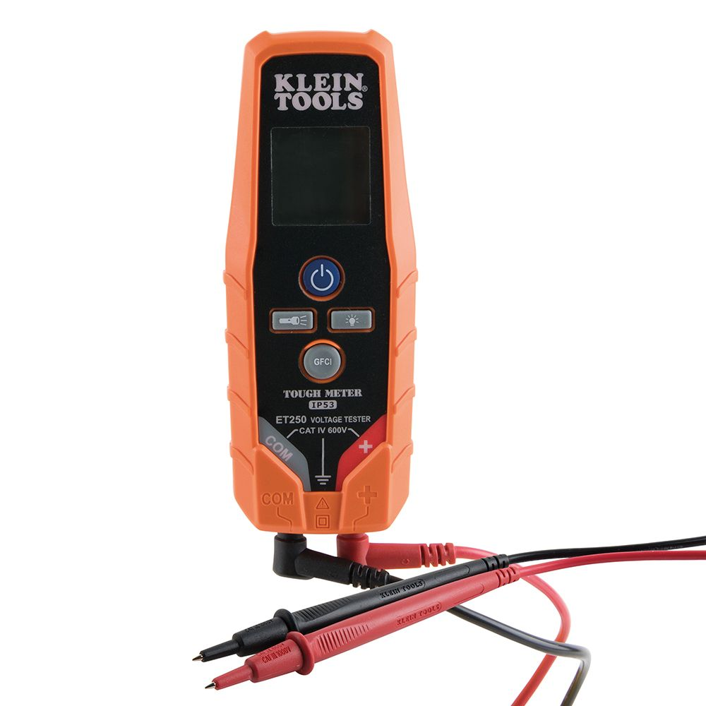 AC/DC Voltage/Continuity Tester - ET250 | Klein Tools - For