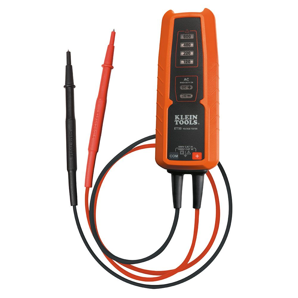 Klein Voltage Tester : Electronic voltage tester et klein tools for