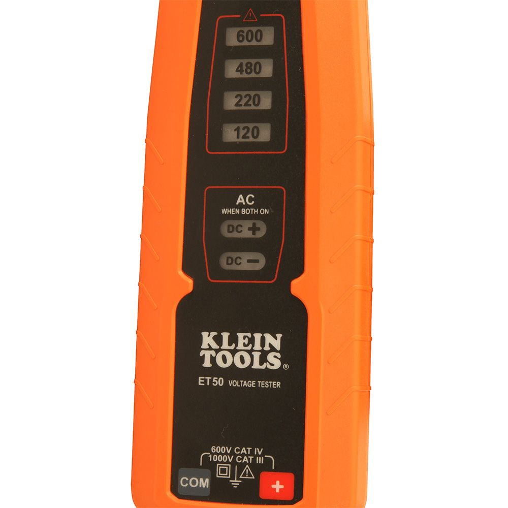 Electronic Voltage Tester : Electronic voltage tester et klein tools for