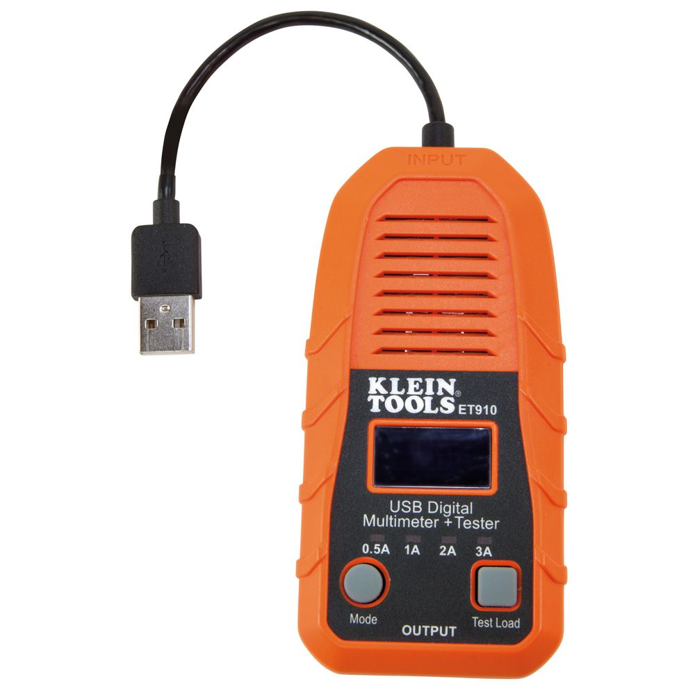 USB Digital Meter and Tester, USB-A (Type A)