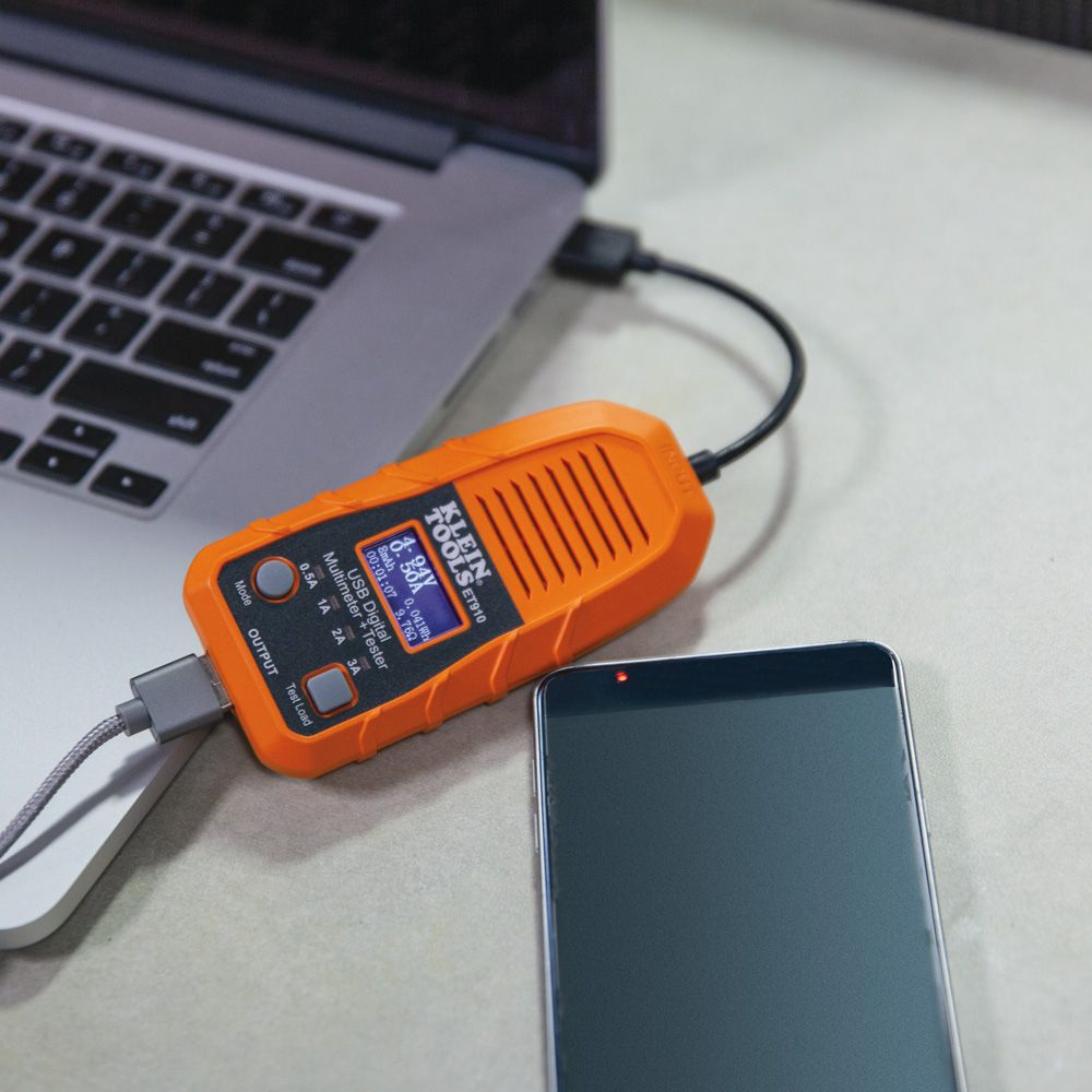 Usb Digital Meter And Tester A Type Et910 Klein Tools Multimeter From Reliable Circuit Suppliers On Alternate Image