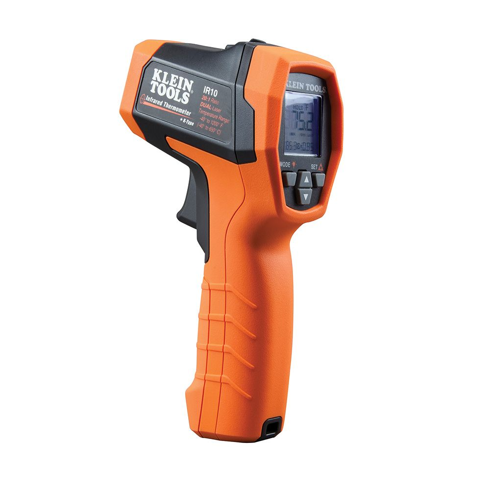 Dual-Laser Infrared Thermometer, 20:1
