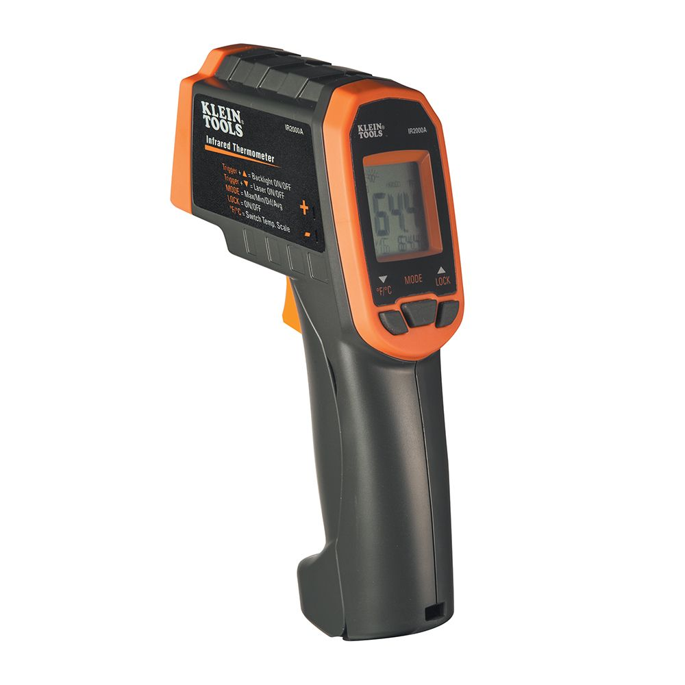 12:1 Infrared Thermometer Auto Scan