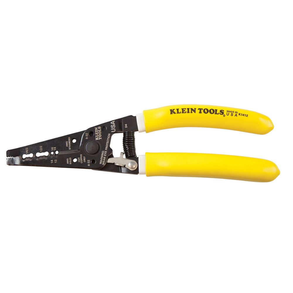 Klein-Kurve® Dual NM Cable Stripper/Cutter - K1412 | Klein Tools ...