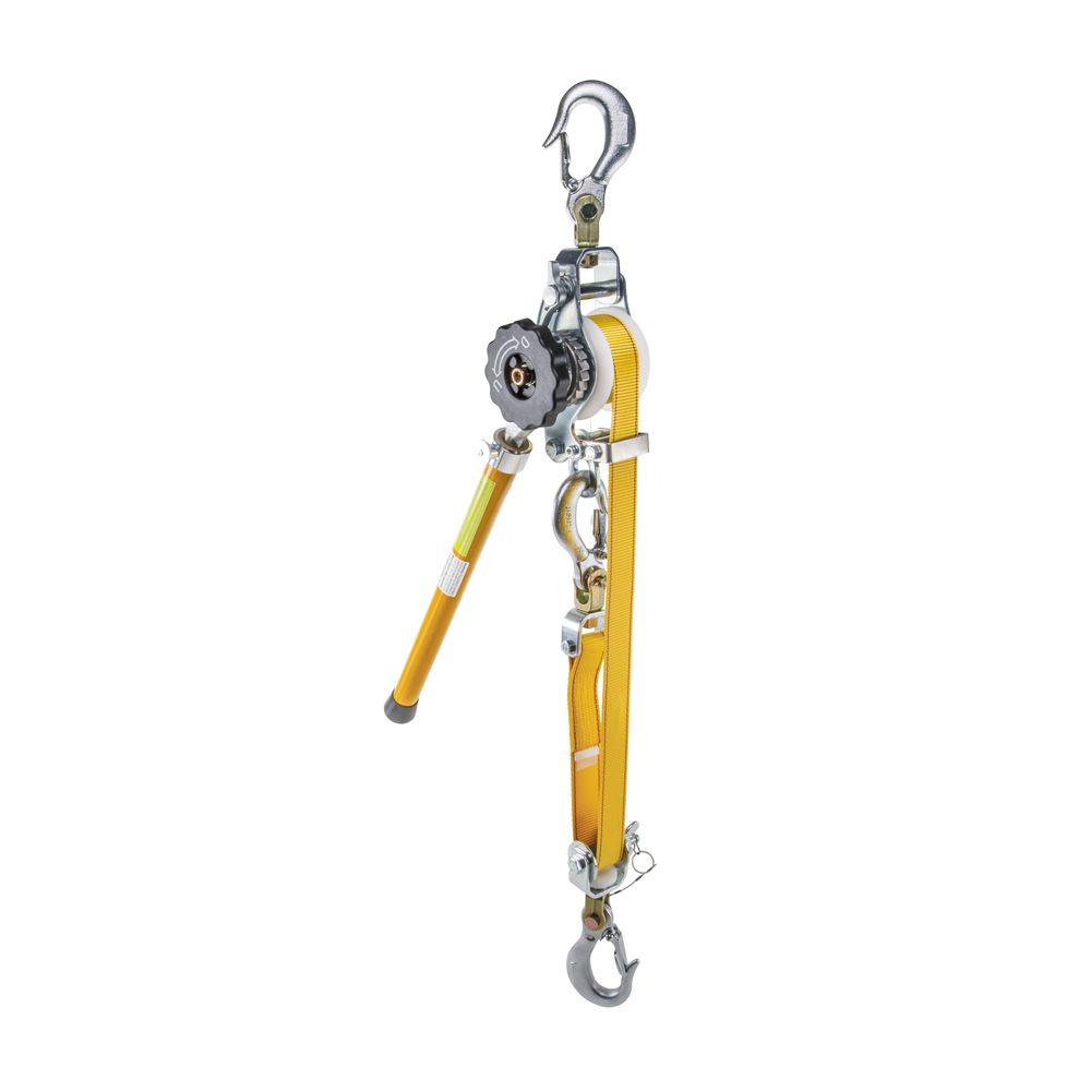 Web-Strap Hoist Deluxe with Removable Handle