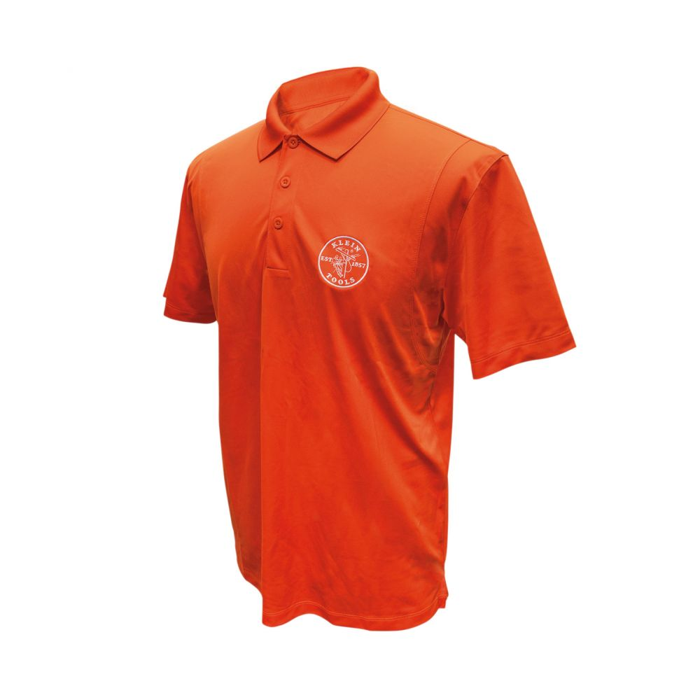 Sport-Wick® Polo Orange Small
