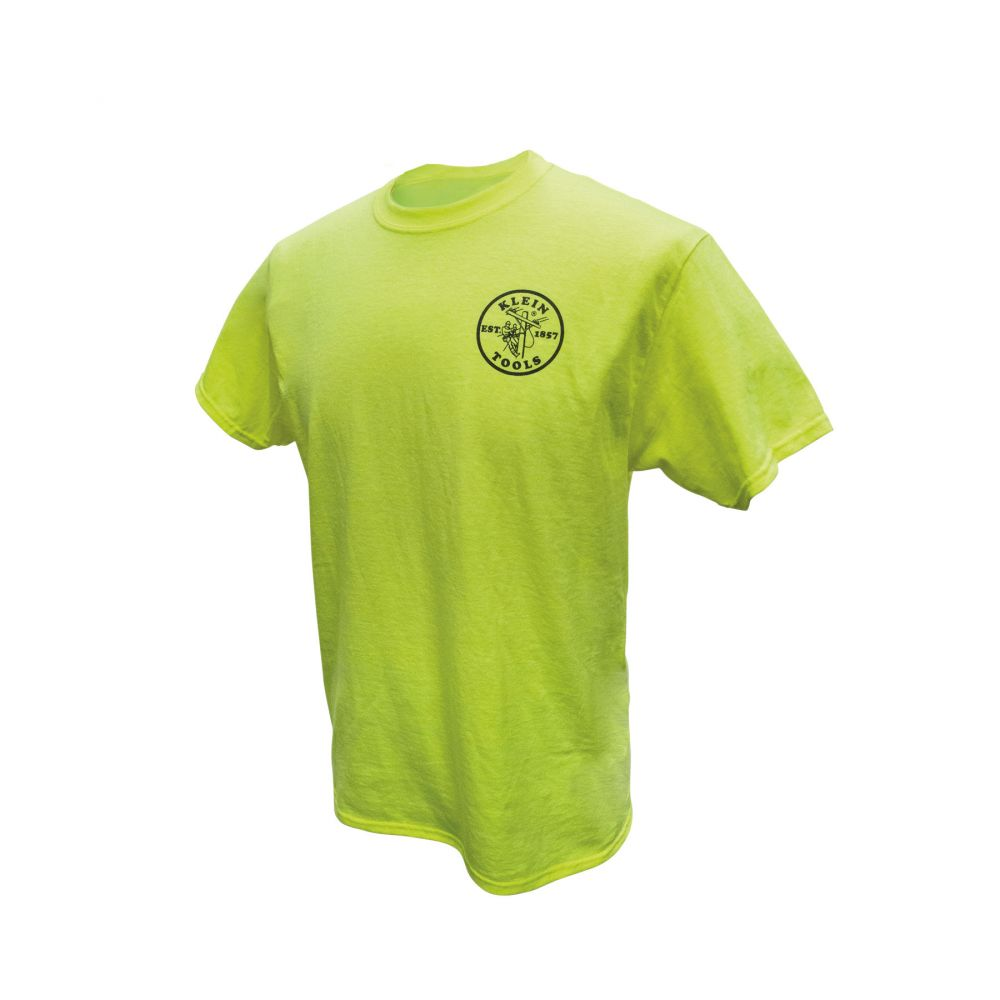 Green HiViz Safety T-Shirt, Large