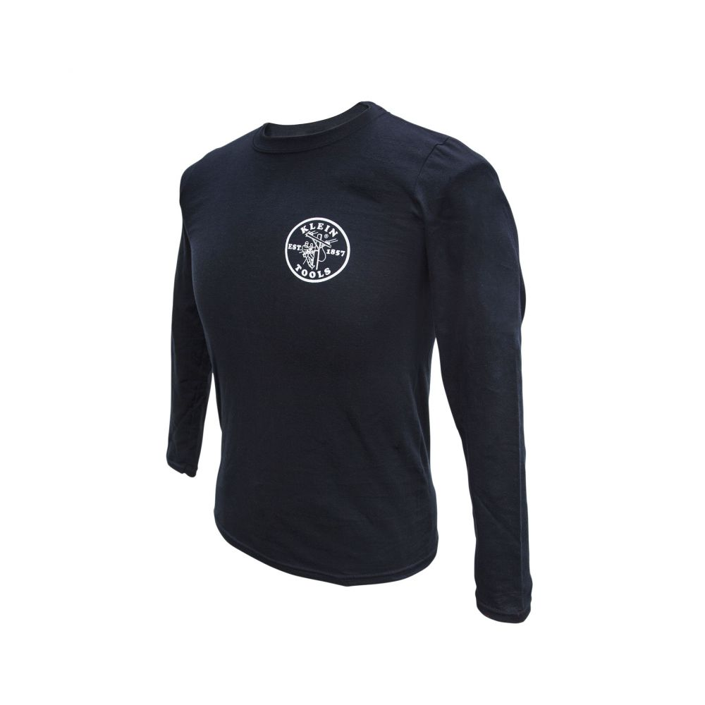 Long Sleeve Shirt Black, Small