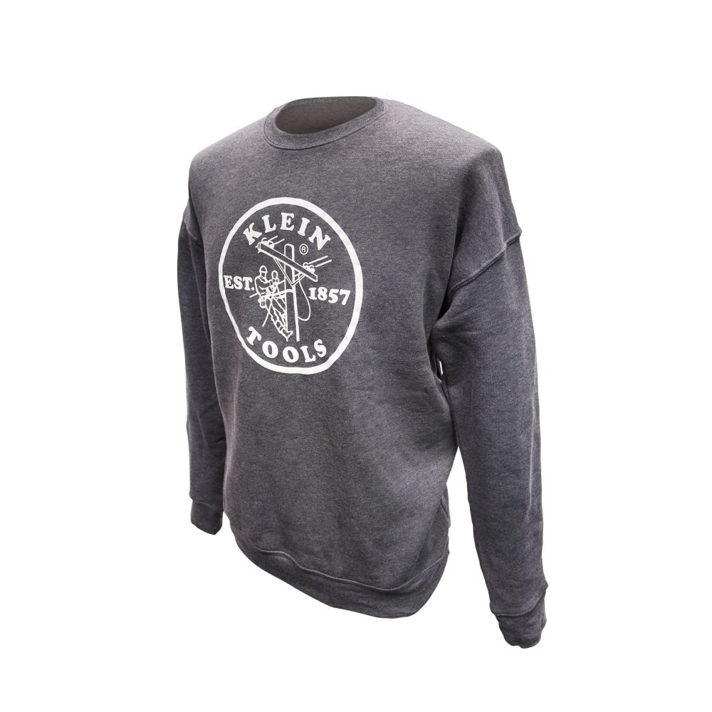 Crewneck Sweatshirt Grey, M