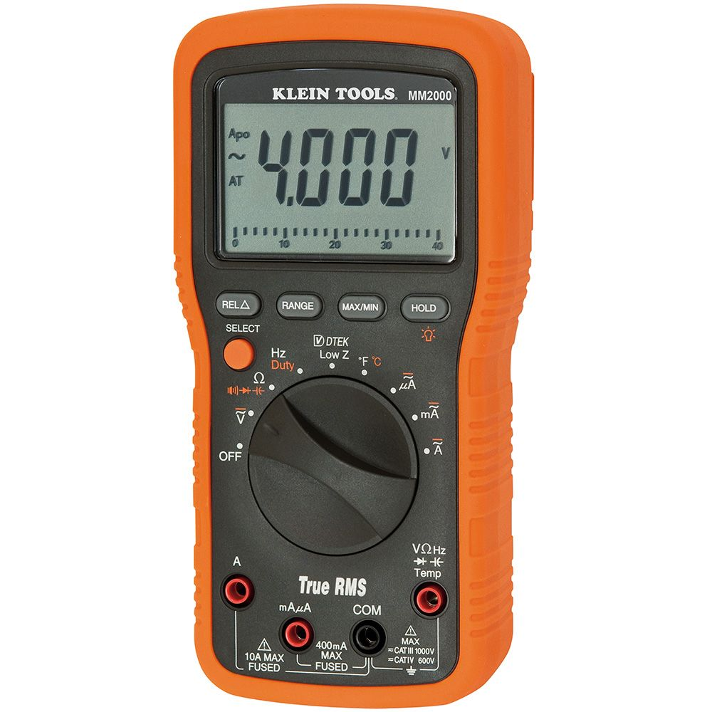 Electricians/HVAC TRMS Multimeter