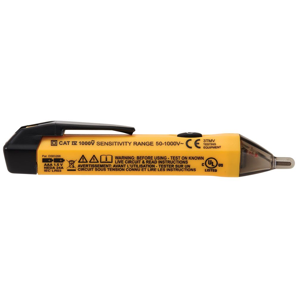 Non Contact Voltage Tester Pen 50 To 1000 Volts Ncvt 1 Klein Tools For Professionals Since 1857