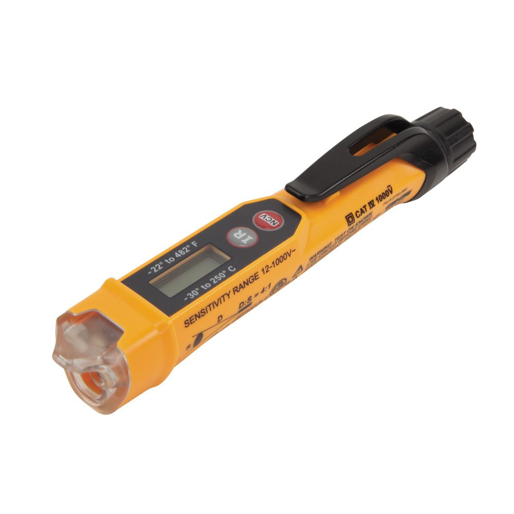 Home Voltage Tester : Non contact voltage tester w infrared thermometer ncvt