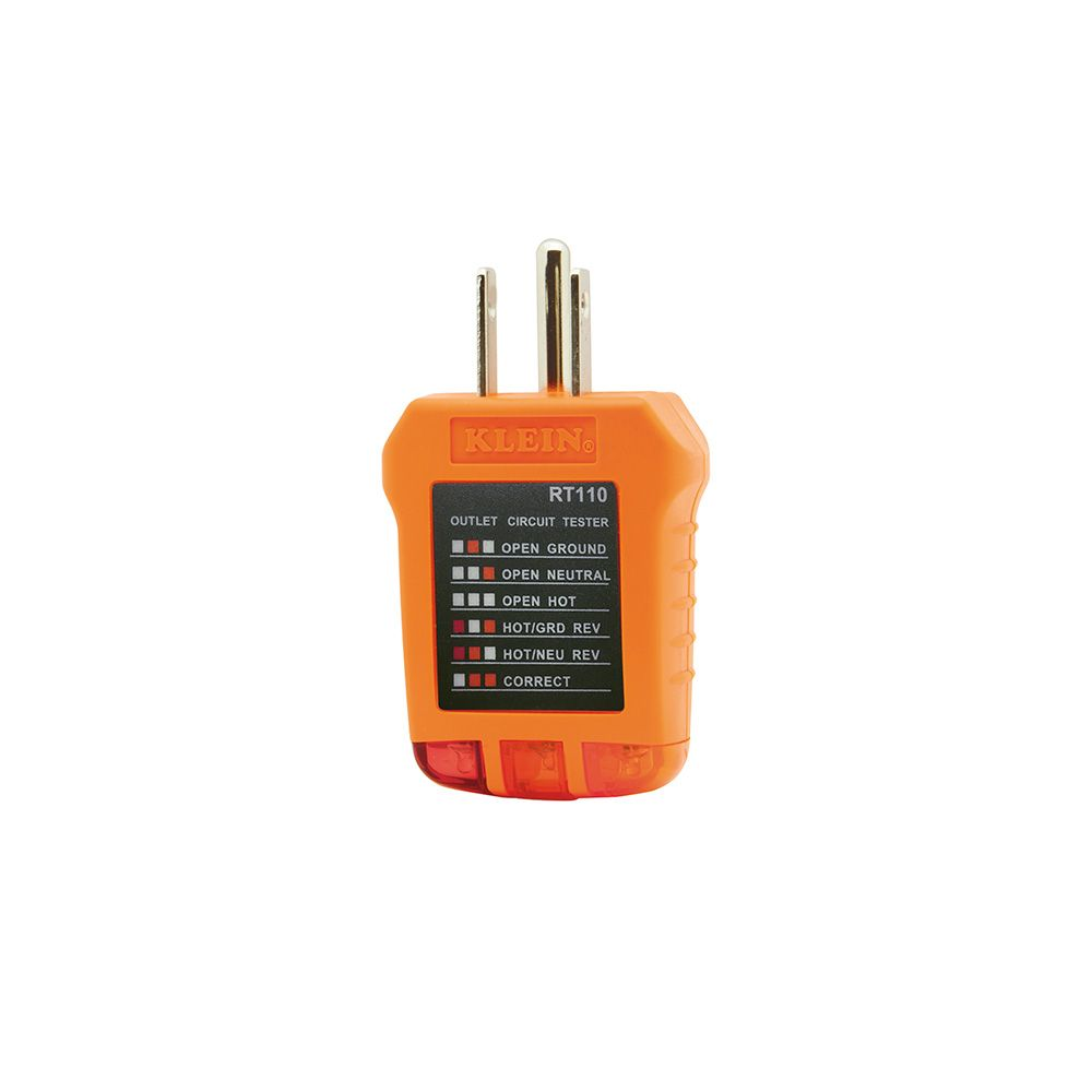 Receptacle Tester Rt110 Klein Tools For Professionals Since 1857 Wiring 2 Gang Recepitacle Youtube