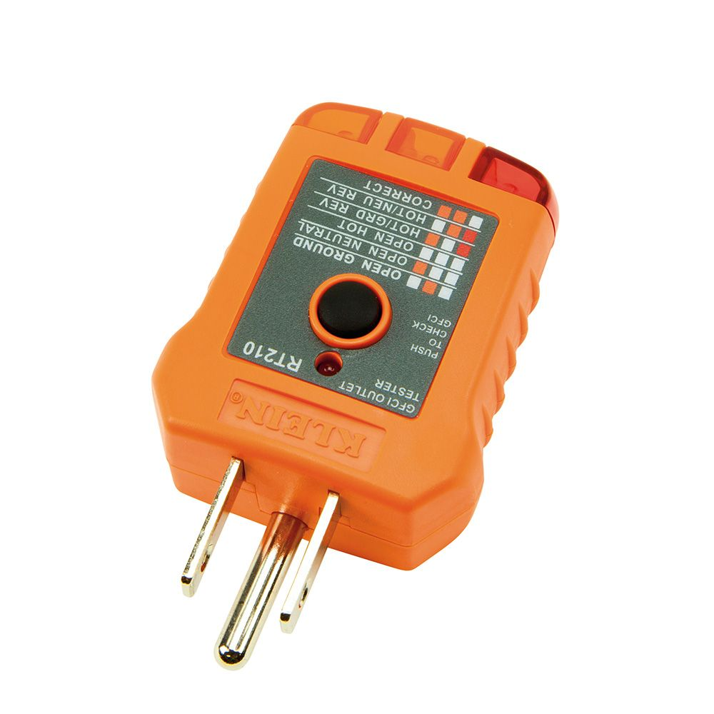 Gfci Receptacle Tester Rt210 Klein Tools For Professionals Wiring A Alternate Image