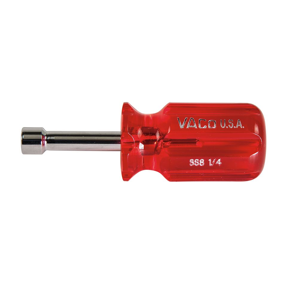 1/4-Inch Stubby Nut Driver 1-1/2-Inch Hollow Shaft