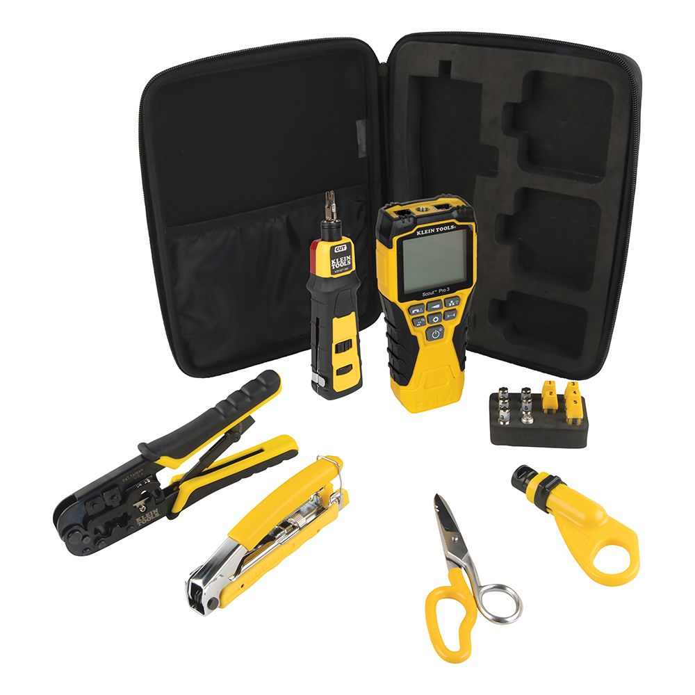 VDV Apprentice Cable Installation Kit with Scout® Pro 3, 6-Piece