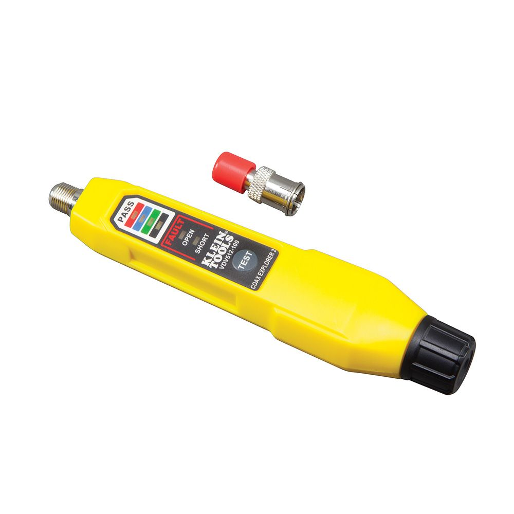 Coax Cable Tester : Coax explorer tester vdv klein tools for