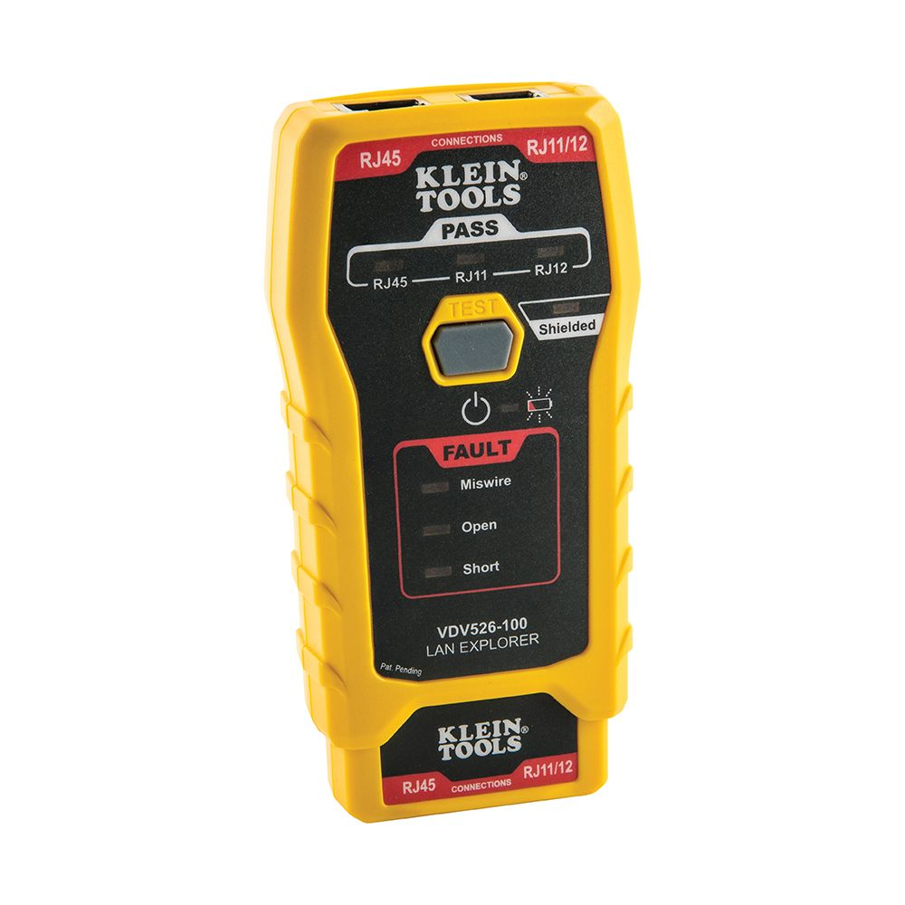 LAN Explorer™ Data Cable Tester with Remote