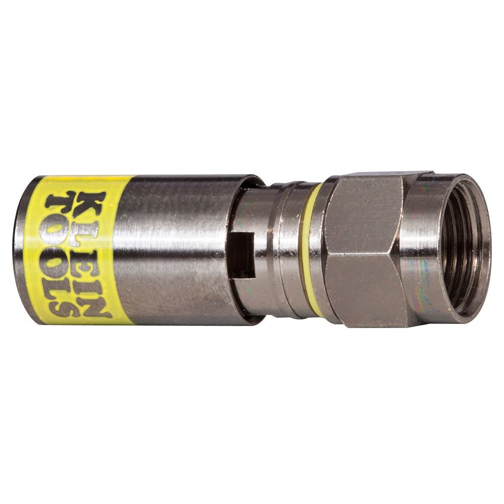 Klein VDV812-606 F Compression Connector RG6/6Q (10/Pkg)