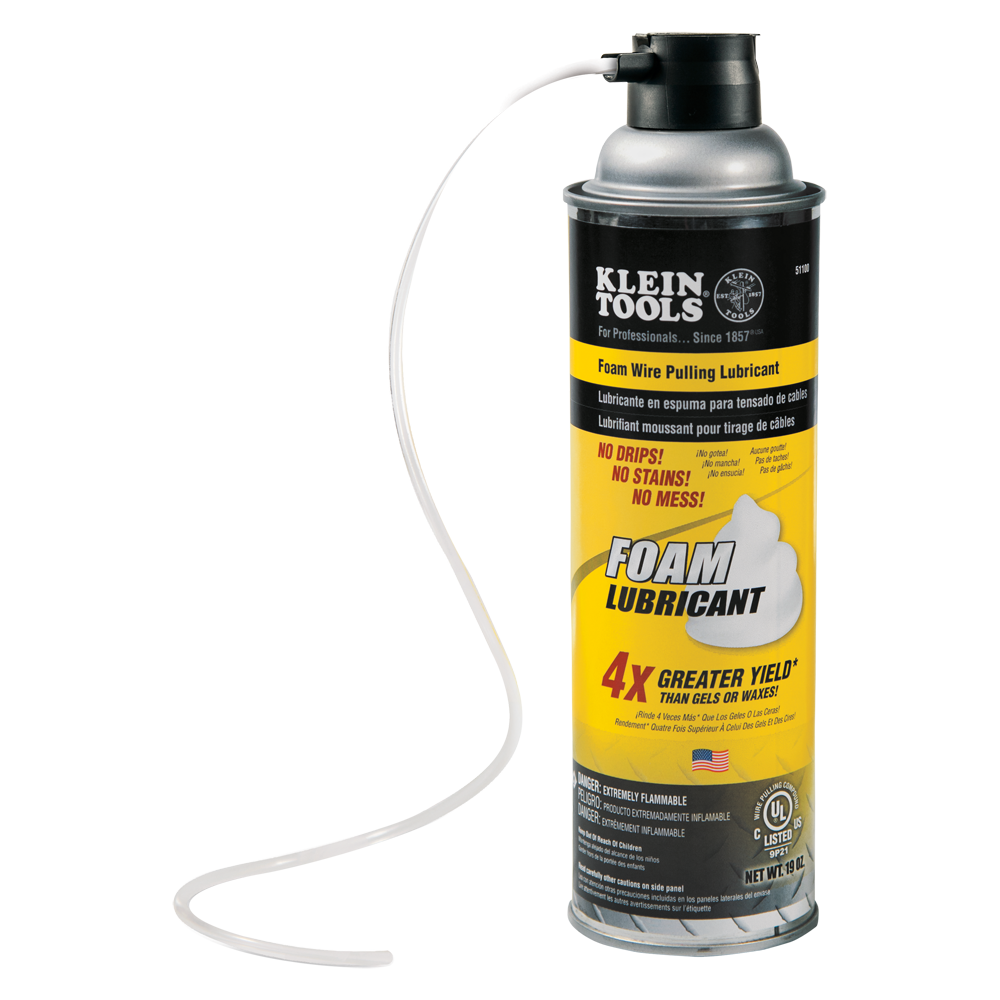 Wire Pulling Foam Lubricant - 51100 | Klein Tools - For ...