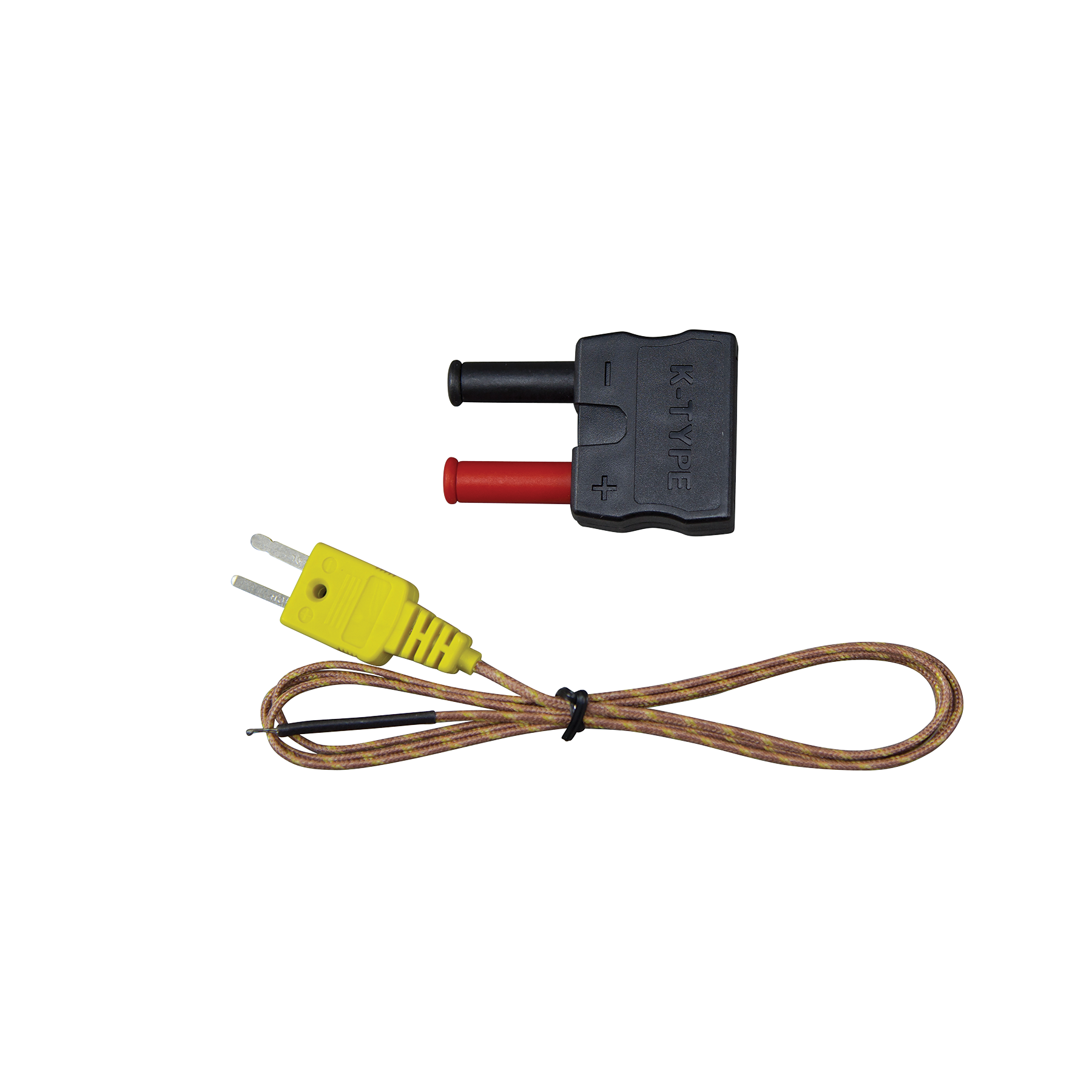 K Type High Temperature Thermocouple 69142 Klein Tools For An Electrical Wire With Pipe And White Background Transparent