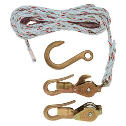 Block & Tackle with Guarded Hooks (4)