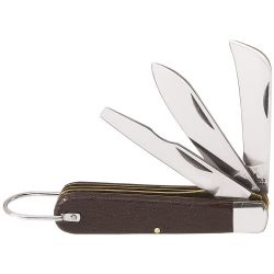 1550-6 3 Blade Pocket Knife with Screwdriver