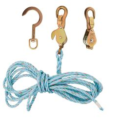 1802-30ssr Block and Tackle 259 Anchor Hook Spliced