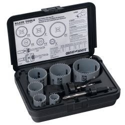 31630 8 Piece Electricians Hole Saw Kit