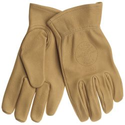 40022 Cowhide Work Gloves, Large