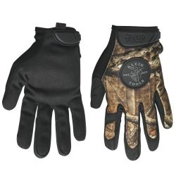40208 Journeyman Camouflage Gloves, Medium