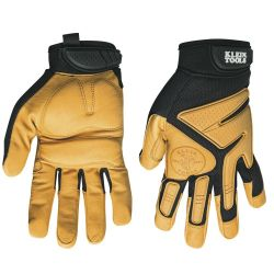 40220 Journeyman Leather Gloves, Medium
