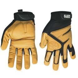 40221 Journeyman Leather Gloves, Large