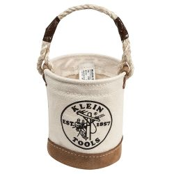 5104mini Mini Leather-Bottom Bucket
