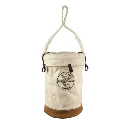 5104VT Leather Bottom Bucket with Top