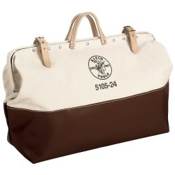 5105-24 High-Bottom Canvas Tool Bag, 24-Inch