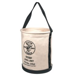 5109p Wide Straight Wall Bucket with Pocket