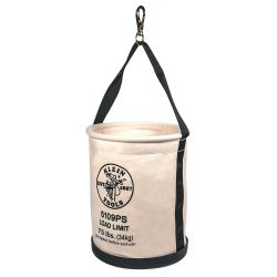 5109PS Wide Straight Wall Bucket with Pocket/Snap