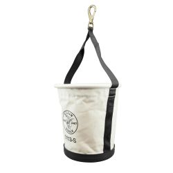 5113S Tapered-Wall Bucket with Swivel Snap Hook, Canvas