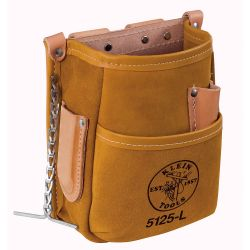 5125l Pocket Tool Pouch with Tape Thong, Leather