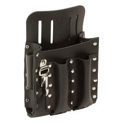 5126 Leather Tool Pouch with Knife Snap, 5-Pocket