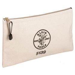 5139 Canvas Zipper Bag