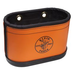 5144BHB Hard-Body Bucket, 14 Pocket Oval Bucket with Kickstand