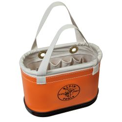 5144bhhb Hard Body Oval Bucket Orange/White